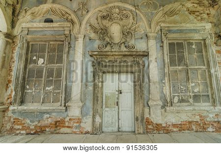 ancient building. castle in Ukraine