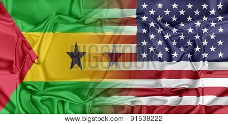 USA and Sao Tome Principe