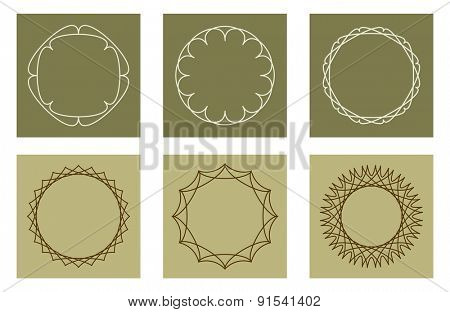 pattern frame border design