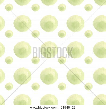 Seamless watercolor spring  pattern