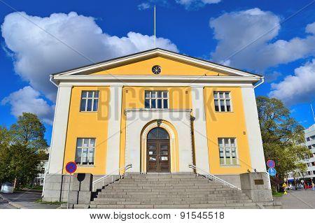 Finland. Architecture Of Hameenlinna
