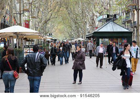 Rambla, Barcelona