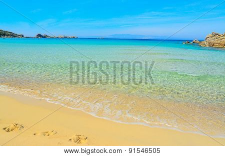 Turquoise Water In Rena Bianca