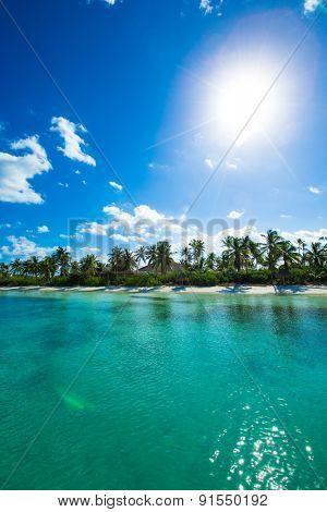beautiful tropical sea