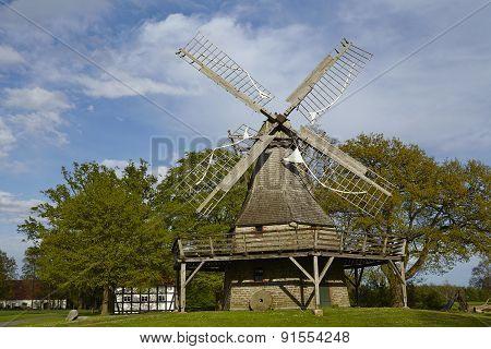 Windmill Levern (stemwede, Germany)