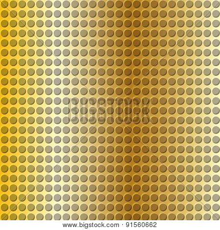 Gold Embossing Metallic Background