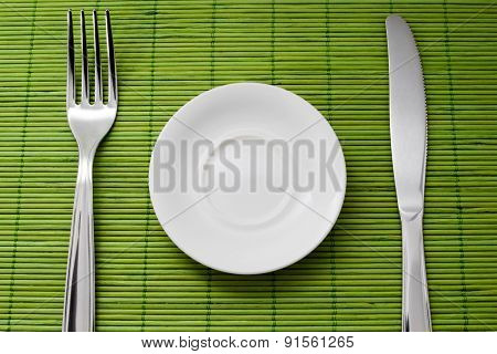 A Small Plate For Diet