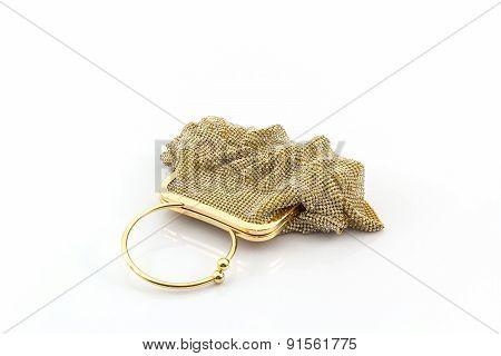 Gold Clutch.
