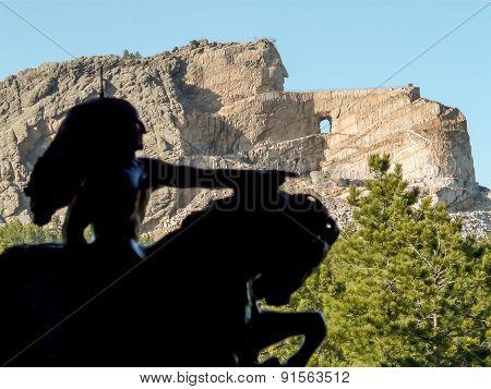 Crazy Horse - Model And Memorial