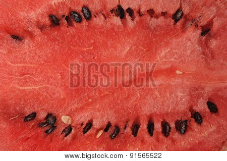 Fresh Sliced Watermelon