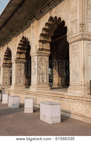 Sandstone Architecture of Divan-i-Khas