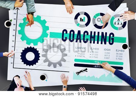 Coaching Expertise Leader Coach Manage Concept