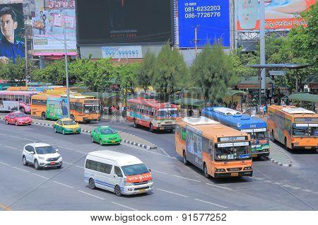 Thailand Bangkok bus
