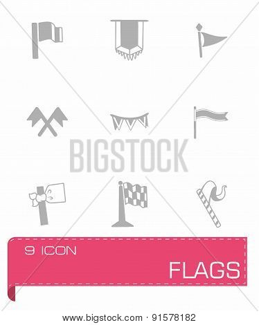 Vector Flags icon set