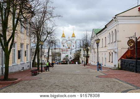 Suvorov Street, Vitebsk, Belarus