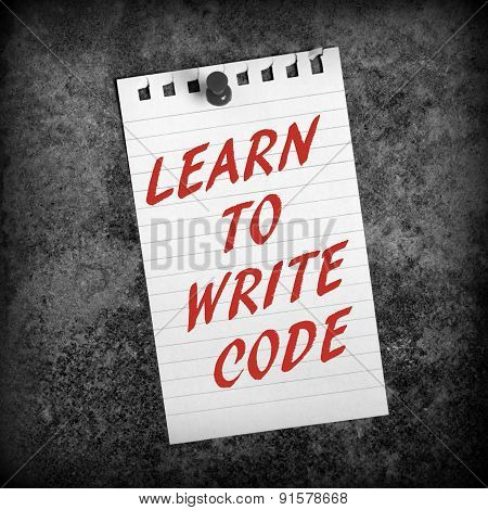 Learn to Write Code