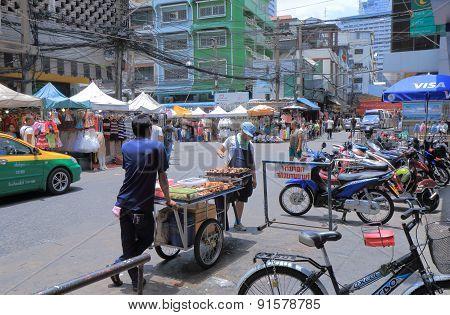 Bangkok street dining