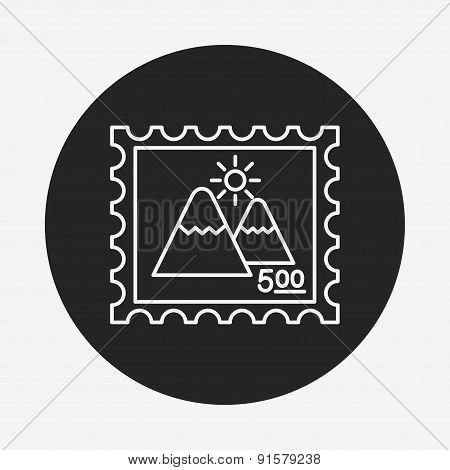 Photo Line Icon