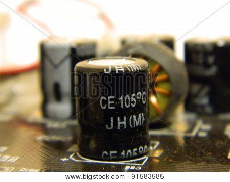 Motherboard condenser
