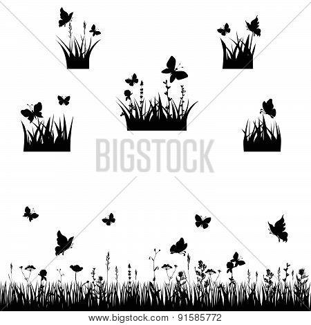 meadows silhouette