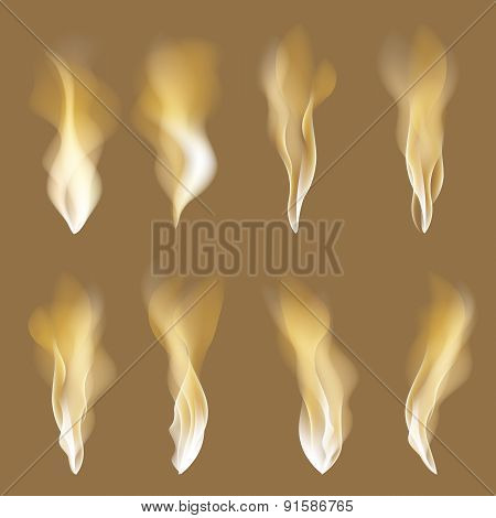 Abstract Fire Flames Background. Colorful Vector Illustration Eps10