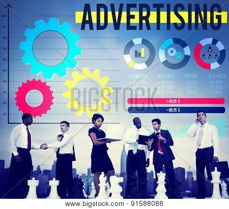 Advertise Advertising Advertisement Branding Concept