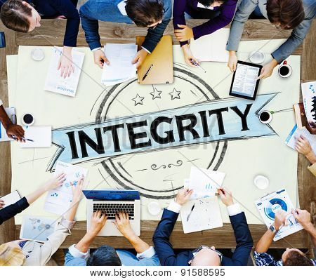 Integrity Attitude Belief Fairness Trust-able Concept