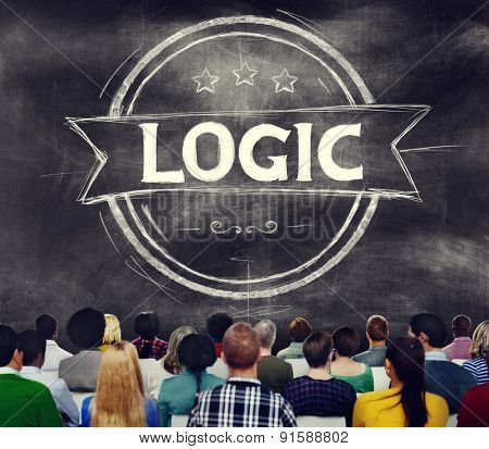 Logic Logical Reasonable Critical Thinking Concept