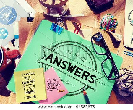 Answers Explanation Question Opinion Suggestion Concept