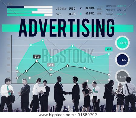 Advertising Marketing Business Promotion Concept