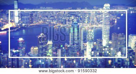 Hong Kong City Urban Central Building Concept