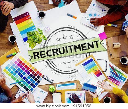 Recruitment Hiring Skills Job Occupation Concept