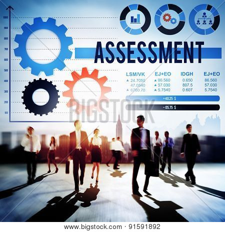 Assessment Analysis Appraisal Calculation Estimate Concept