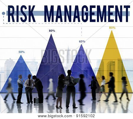 Risk Management Danger Hazard Safety Security Concept