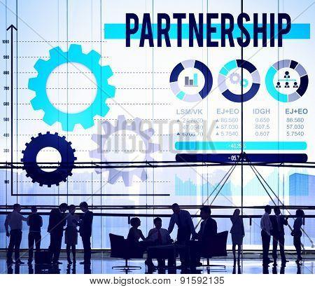 Partnership Collaboration Connection Teamwork Concept