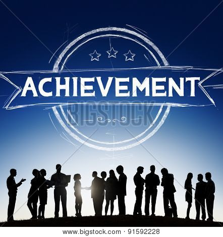 Achievement Accomplishment Success Goal Concept
