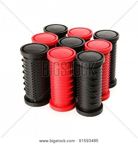 Hairdressing rollers