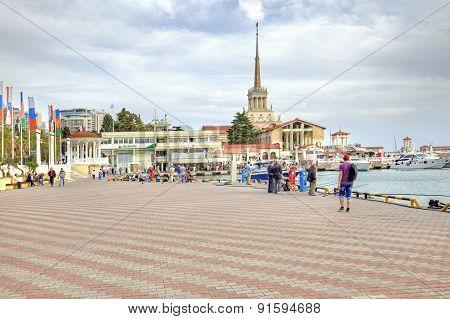 City Sochi. Marine Port