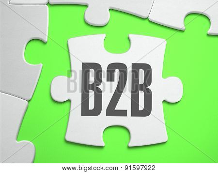 B2B - Jigsaw Puzzle with Missing Pieces.