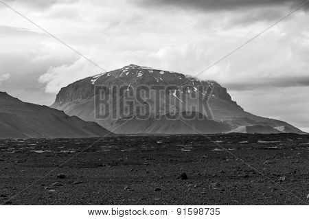 Herdubreid is one of the most beautiful Icelandic volcanos,