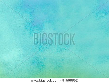 Watercolored Paper Texture - Abstract Paper Background