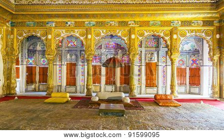 Meherangarh Fort, Jodhpur, Rajasthan, India