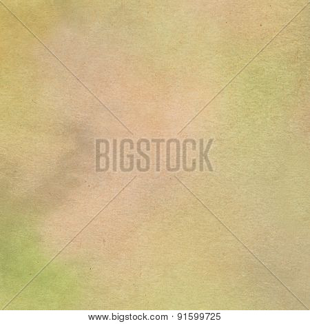 Beige watercolor painted on textured paper close up - Abstract Background