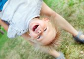 picture of rapture  - The Happy Child in the Summer Park - JPG