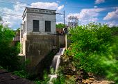 picture of hydro  - An old small hydro - JPG