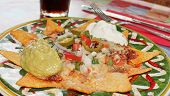 foto of nachos  - Mexican Nachos with cheese - JPG