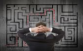 picture of maze  - Business concept - JPG