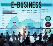 image of e-business  - E - JPG
