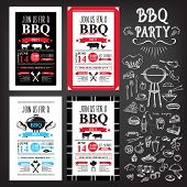 picture of food  - Barbecue party invitation - JPG