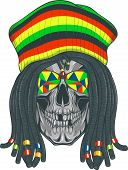 picture of dreadlock  - Vector illustration - JPG